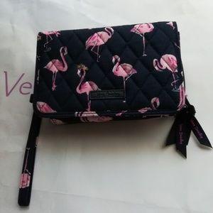 Vera Bradley Flamingo 3 In 1 Crossbody Purse